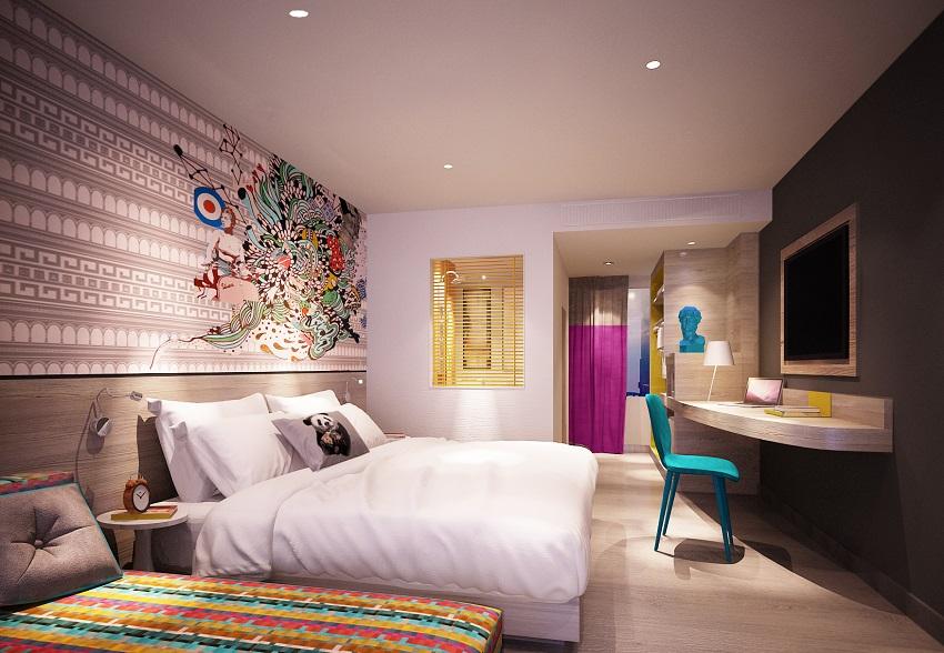 Soho hospitality ibis styles bangkok for Style hotel