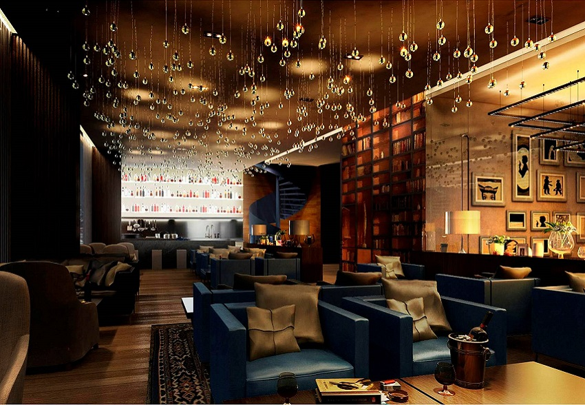 Interior Design Services For A Specialty Rooftop Restaurant In The Taj Gateway Hotel Chennai Scope Includes One