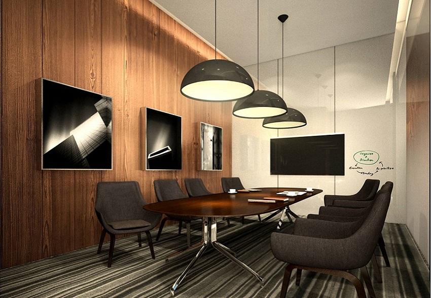 The design scope includes lobby public areas rooms one fb for Designer room outlet
