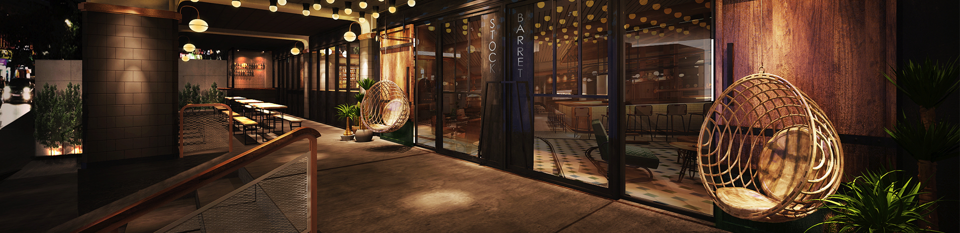 Soho Hospitality Mercure Lobby As Brewery